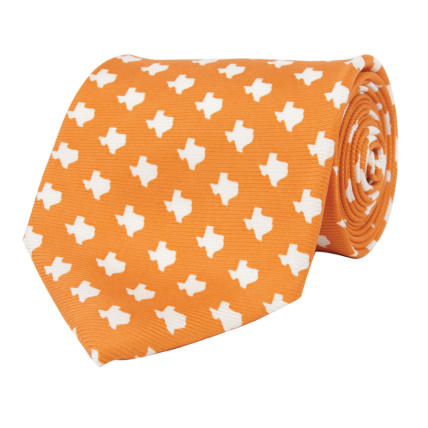 TX Gameday Orange Tie